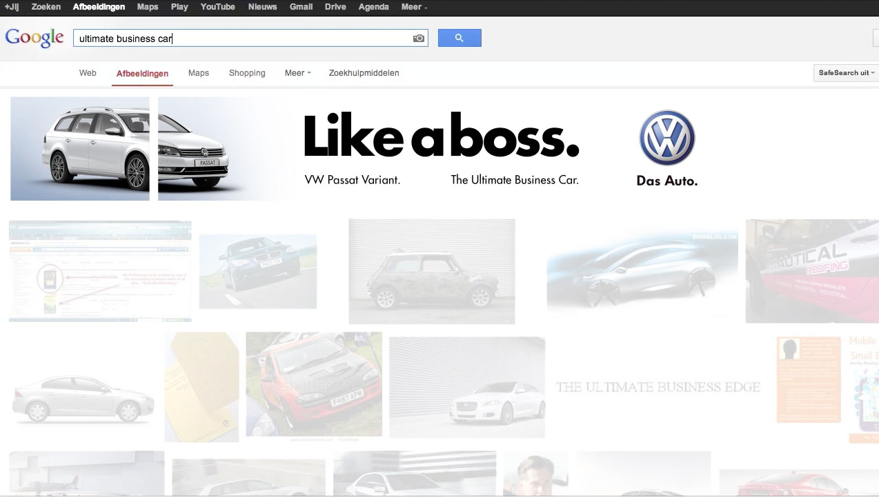 volkswagen - like a boss